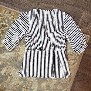 H&M Striped Blouse